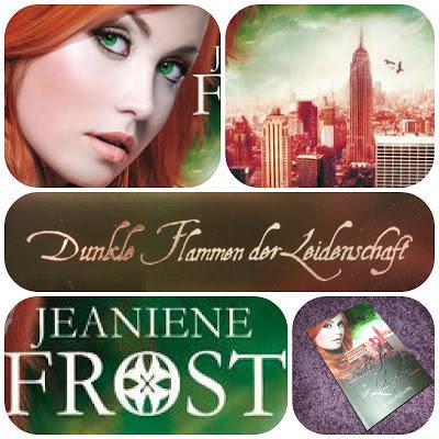 {Rezension} Jeaniene Frost – Dunkle Flammen der Leidenschaft