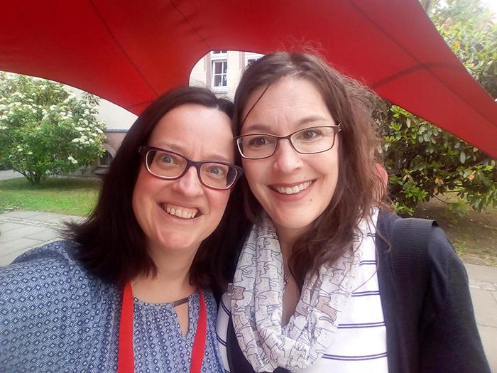 Katja und Brina