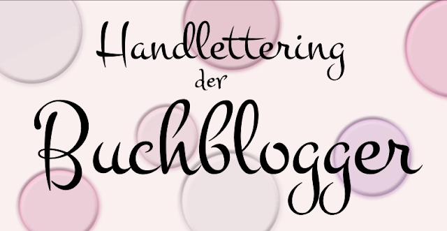 Handlettering der Buchblogger: Erste Rezension auf dem Blog