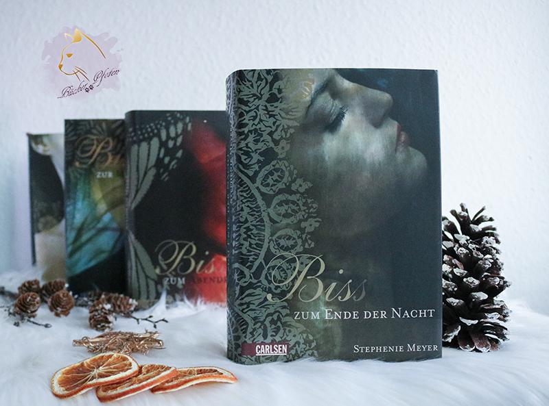 #3Bücher - schwarzem/dunklem Cover - Biss zum Ende der Nacht