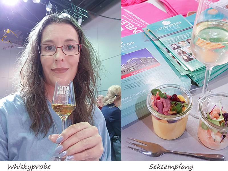 FBM2018 - Whiskyprobe - Sektempfang