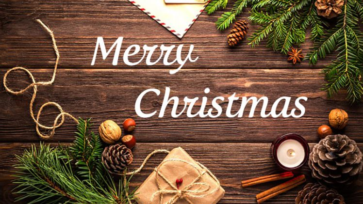 Fröhliche Weihnachten wünsche ich …
