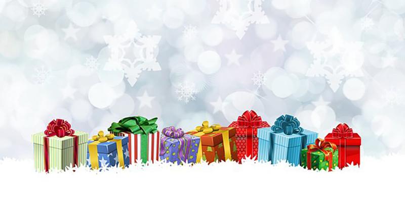 Fröhliche Weihnachten - Weihnachtsgeschenke