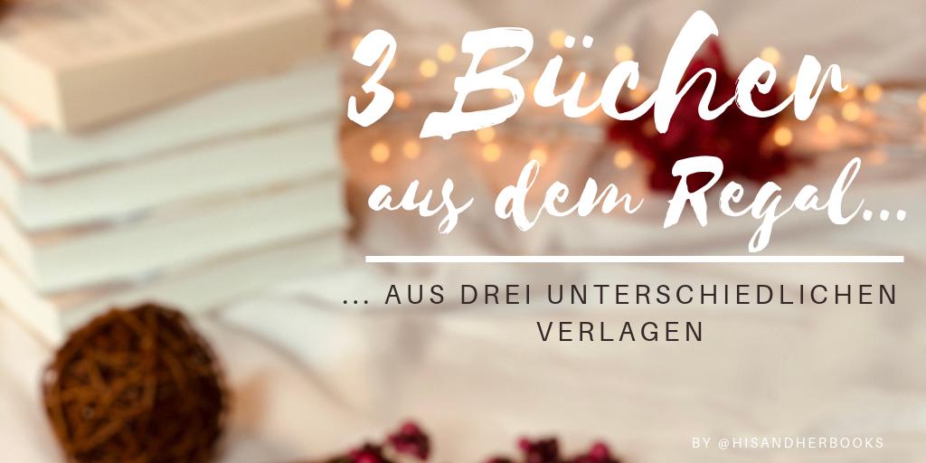 #3Bücher - aus drei unterschiedlichen Verlagen