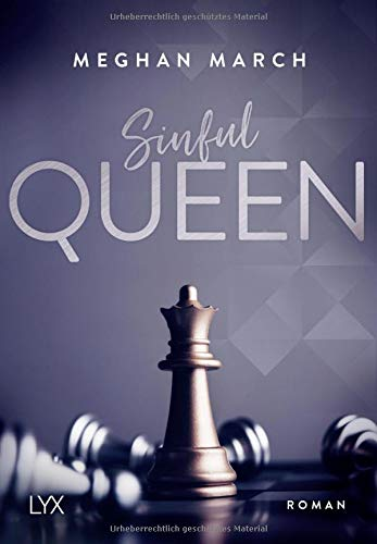 Meghan March - Sinful Queen - Cover
