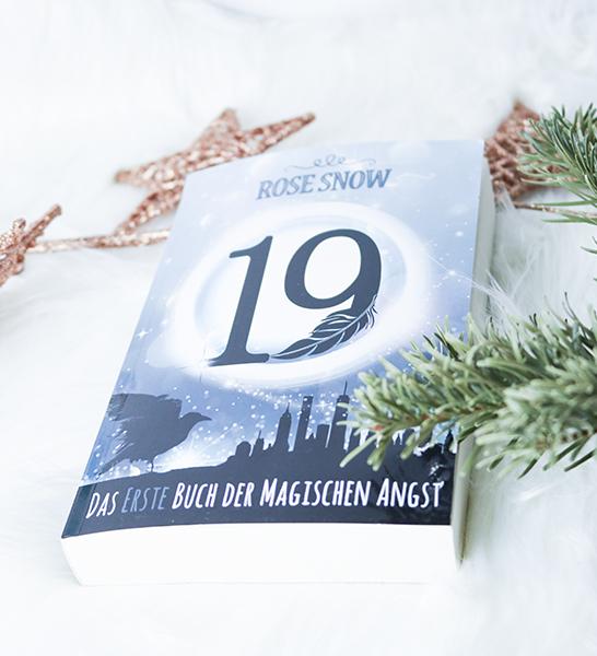 Rose Snow - 19: Das erste Buch der magischen Angst - Cover