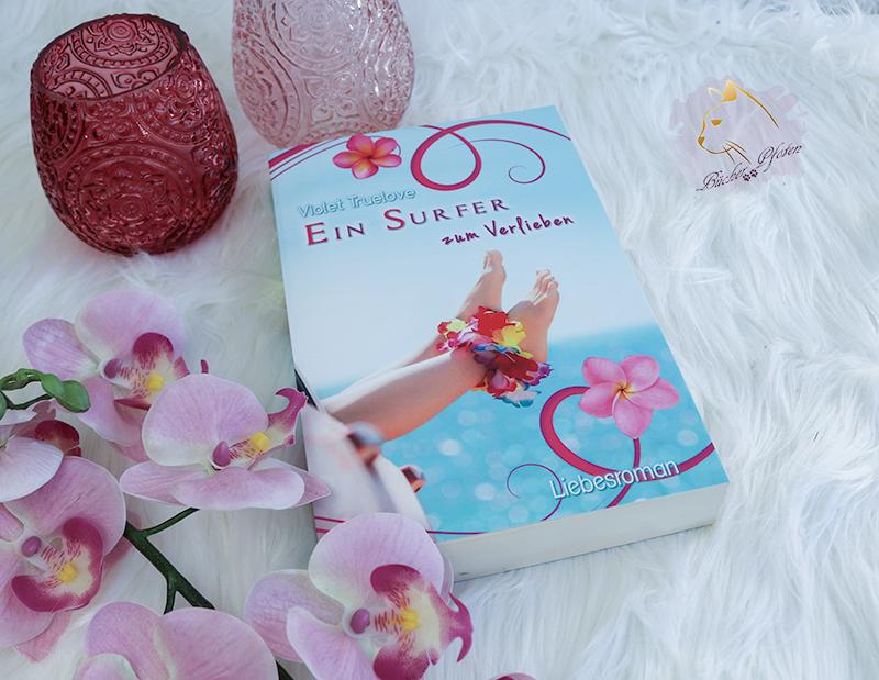 #3Bücher - mit Blumen auf dem Cover - Ein Surfer zum Verlieben