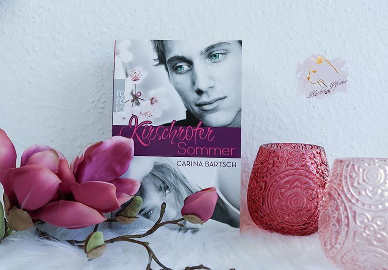 #3 Bücher - mit Blumen auf dem Cover - Kirschroter Sommer