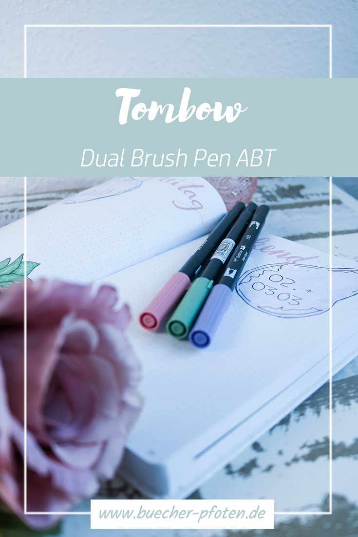 Tombow - Dual Brush Pen - Pinterest