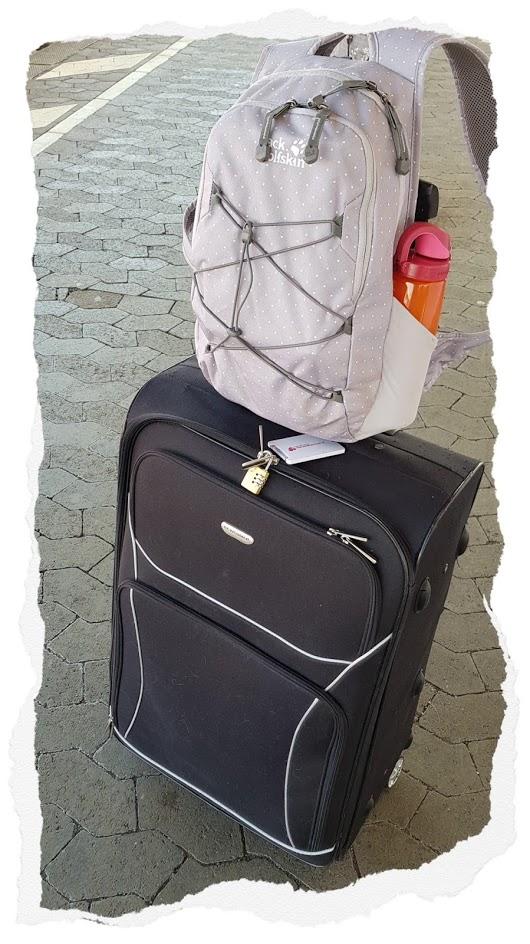 LBM 2019 - Anreise - Koffer