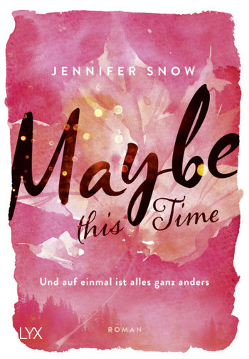 Jennifer Snow - Maybe this time - Cover