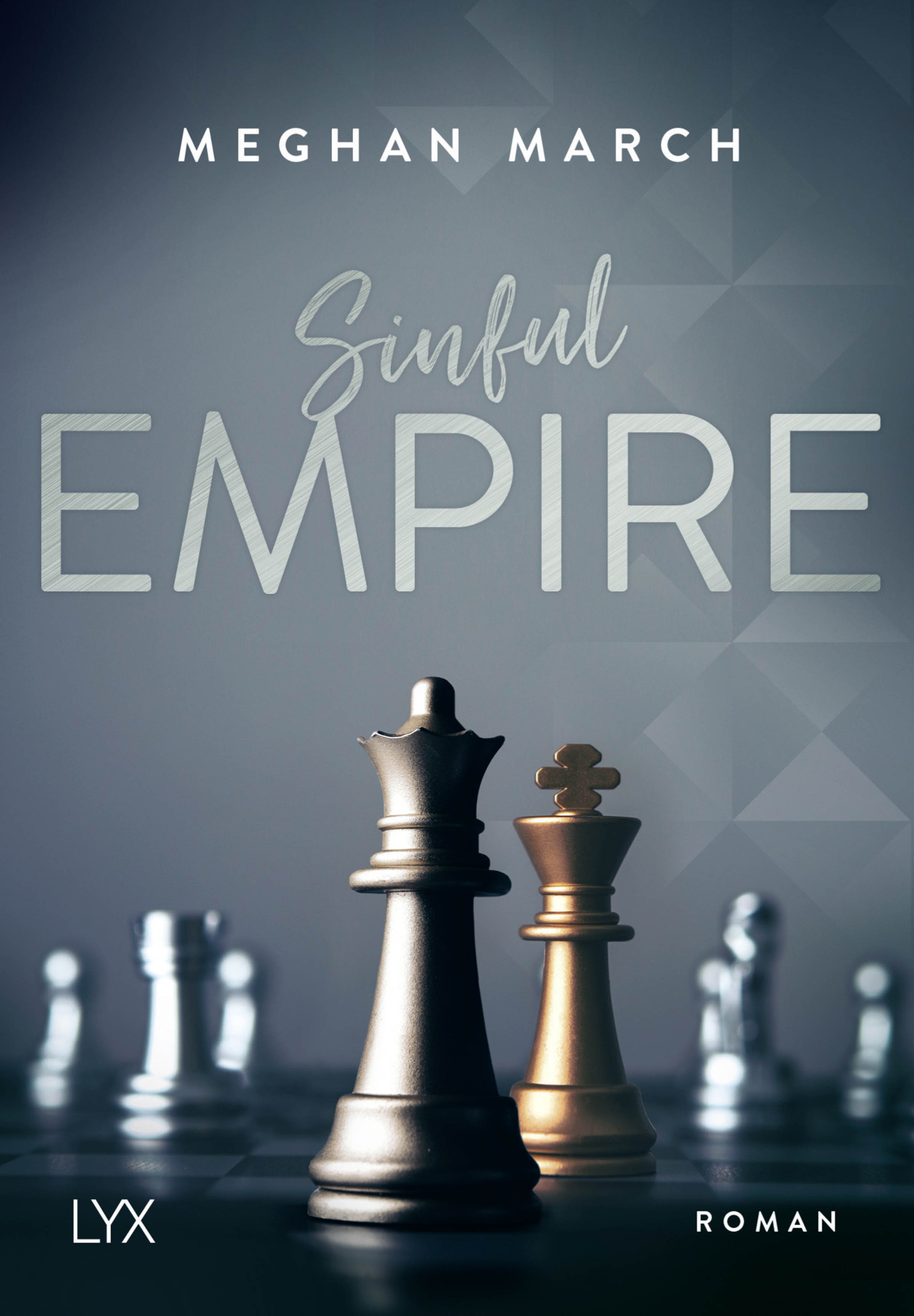 Meghan March - Sinful Empire - Cover
