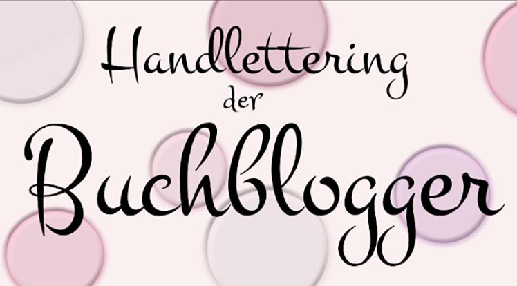 Jahreshighlight – Handlettering der Buchblogger: