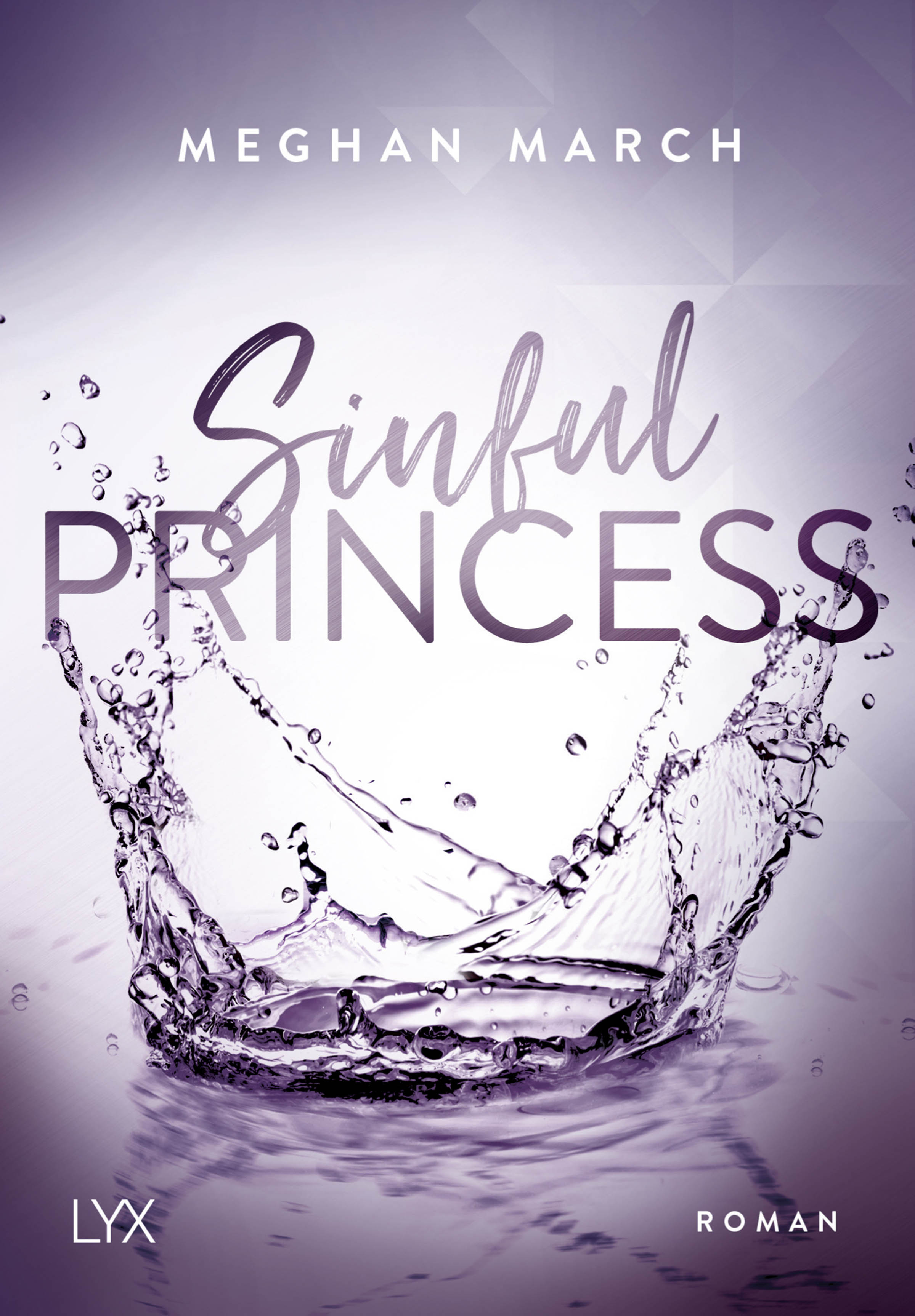 Meghan March - Sinful Princess - Cover