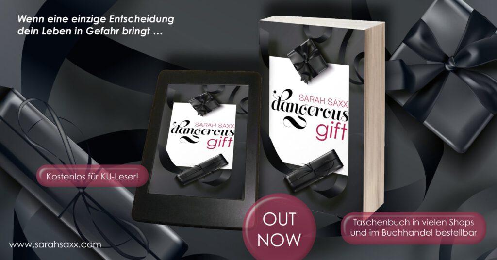 Dangerous gift - Sarah Saxx - Banner