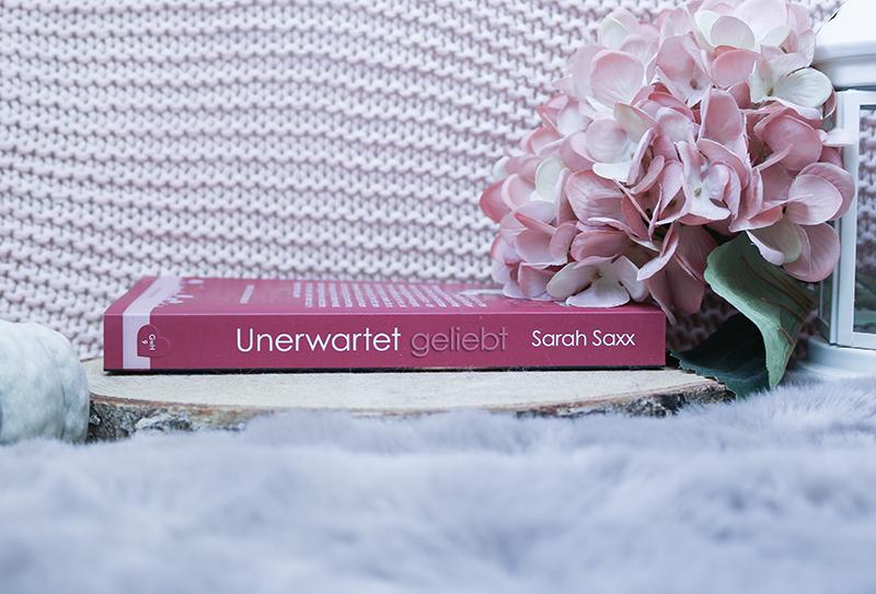 Unerwatet geliebt - Sarah Saxx - Buchrücken